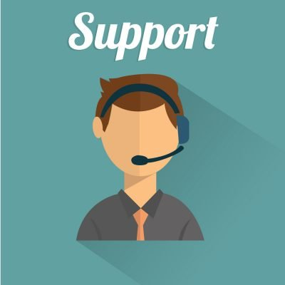 An image of a technical support representative.