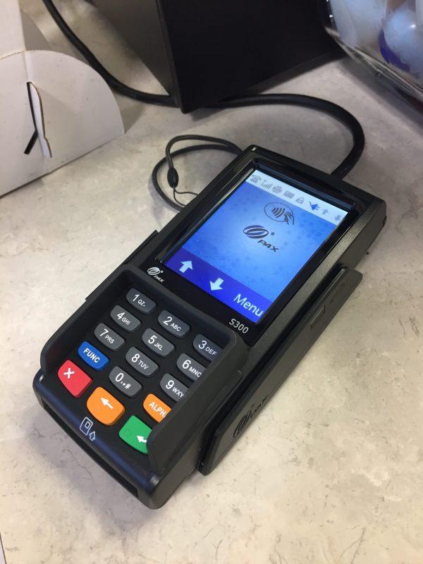 PAX S300 EMV PIN pad