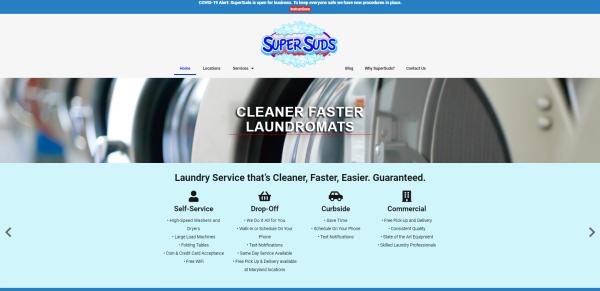 SuperSuds Laundry Screenshot